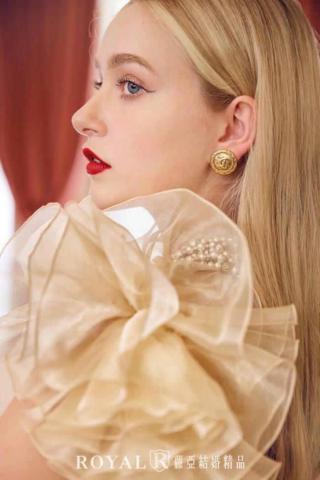 婚紗禮服款式2020-特殊袖型-魚尾婚紗-婚紗禮服