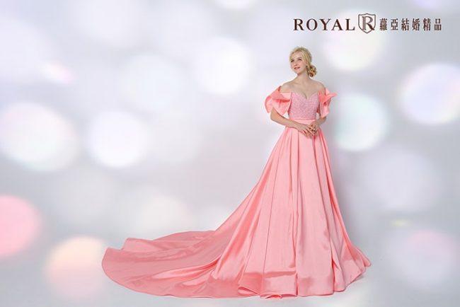 手工婚紗-婚紗禮服款式-婚紗款式2020-緞面婚紗-公主風婚紗