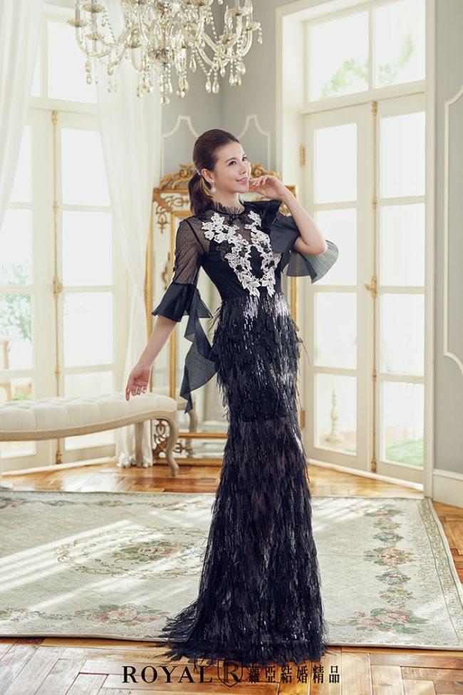 手工婚紗-特殊袖型-魚尾婚紗-時裝婚紗-婚紗禮服2020-婚紗禮服款式