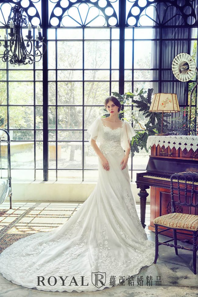 手工婚紗-特殊袖型-魚尾婚紗-aline婚紗-婚紗禮服2020-婚紗禮服款式