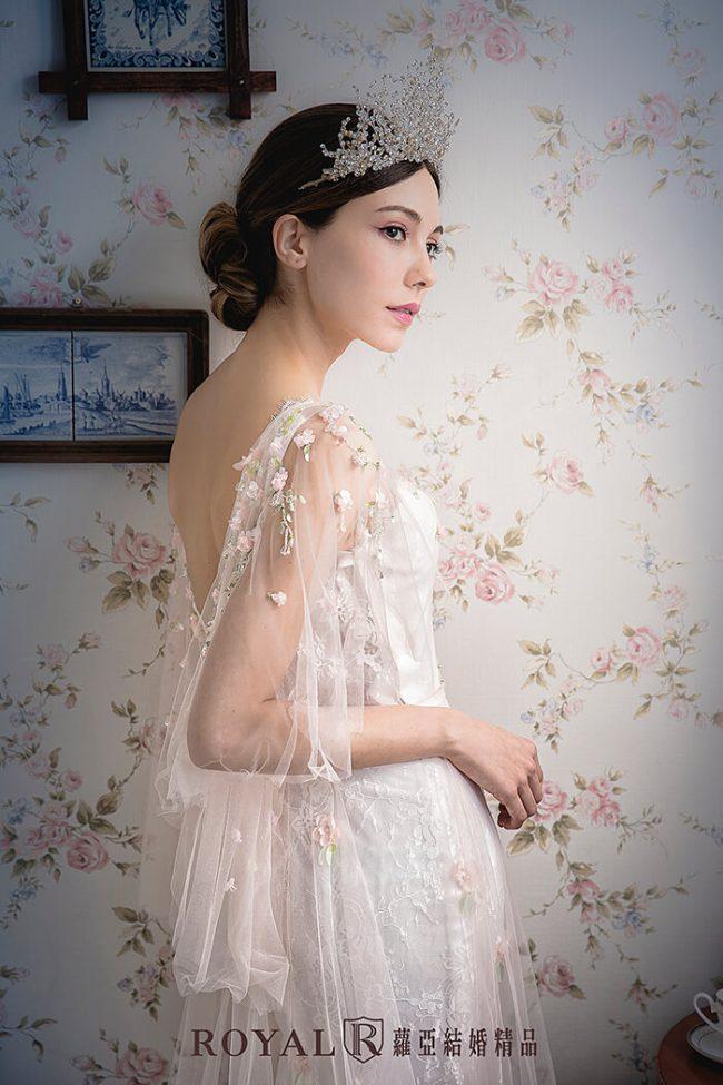 特殊袖型-魚尾婚紗-婚紗禮服2020-婚紗禮服款式