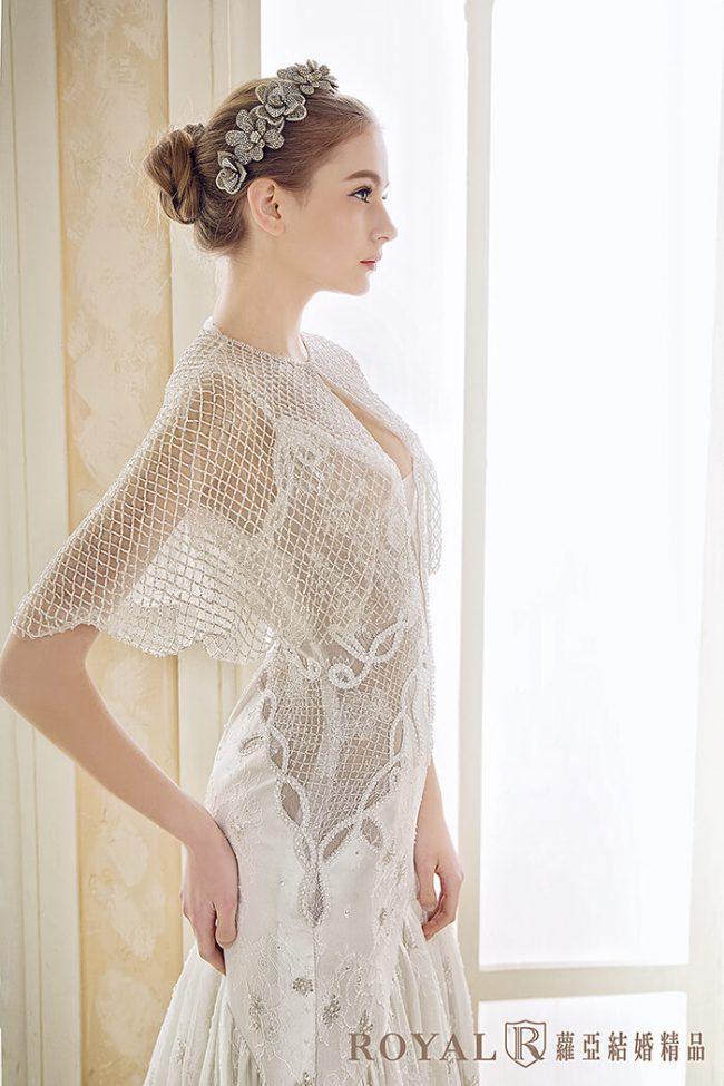 魚尾白紗-手工婚紗-兩件式婚紗禮服-婚紗禮服款式
