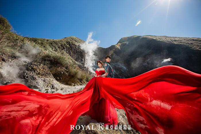 台北婚紗景點-陽明山婚紗-小油坑婚紗-岩石婚紗-婚紗照推薦-台北-蘿亞婚紗