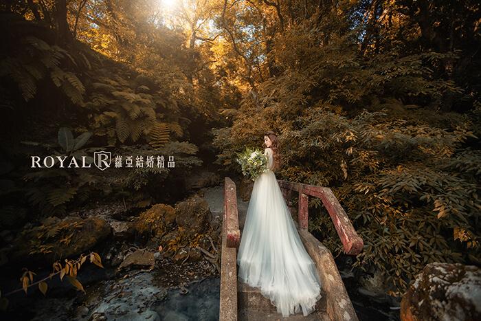 拍婚紗月份-拍婚紗季節-秋天婚紗-陽明山-小隱潭瀑布-台北-拍婚紗-蘿亞婚紗