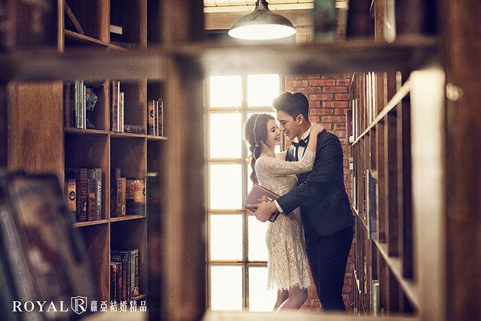 拍婚紗月份-拍婚紗下雨-室內婚紗照-大屯莊園-台北-拍婚紗-蘿亞婚紗