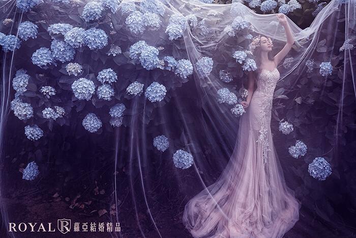 拍婚紗月份-拍婚紗季節-夏天拍婚紗-陽明山-繡球花-2-台北-拍婚紗-蘿亞婚紗