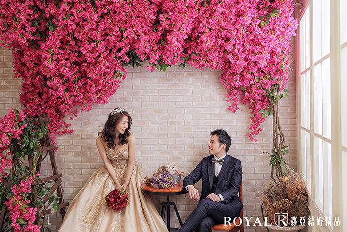 拍婚紗月份-拍婚紗下雨-室內婚紗照-蘿亞攝影棚-台北-拍婚紗-蘿亞婚紗