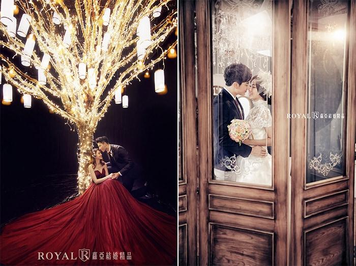 韓式婚紗-韓國婚紗-韓風婚紗-韓國婚紗攝影-在婚紗基地和蘿亞攝影棚,都能拍出浪漫韓式婚紗照