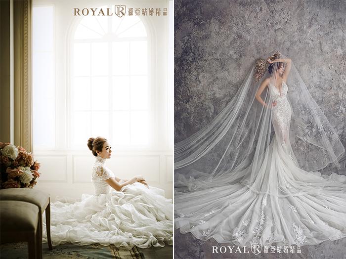 韓式婚紗-韓國婚紗-韓風婚紗-韓國婚紗攝影-想拍全白紗的韓式婚紗照也可以,在蘿亞攝影師引導下,氣質、氣勢都能一次展現