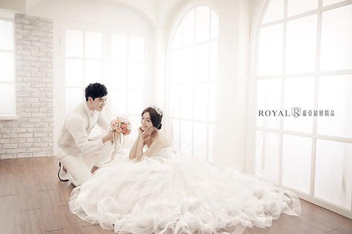 韓式婚紗-韓國婚紗-韓風婚紗-韓國婚紗攝影-簡約不簡單的蘿亞韓風婚紗照,中價位就能拍出高水準質感