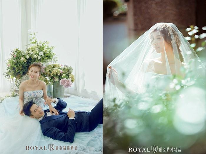 韓式婚紗-韓國婚紗-韓風婚紗-韓國婚紗攝影-蘿亞攝影師多元的韓系婚紗照風格,拍出的韓系新娘可動可靜