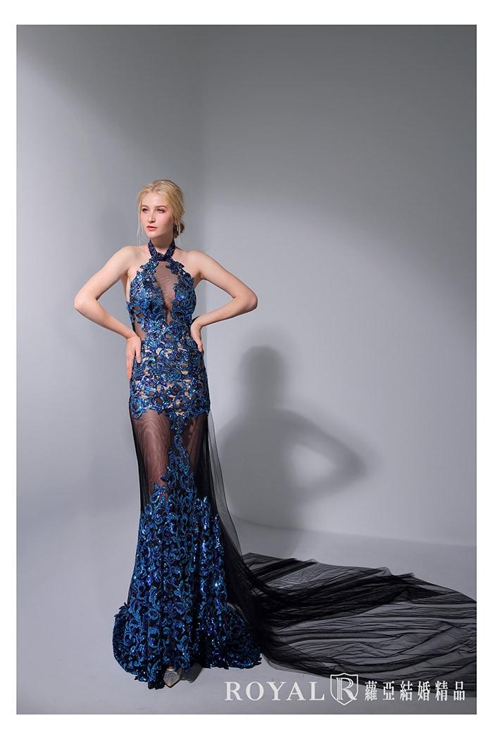 削肩婚紗-削肩白紗-婚紗款式2020-繞頸婚紗-時裝-婚紗禮服款式