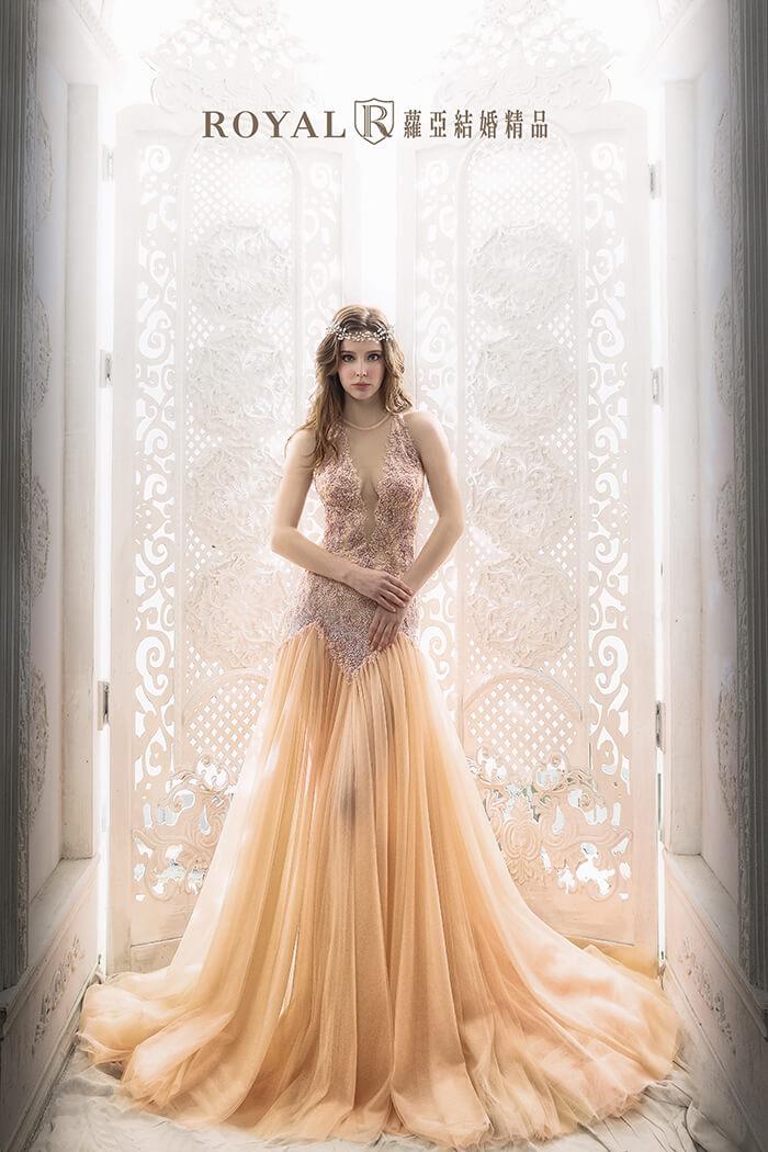 婚紗款式2019-削肩婚紗-削肩禮服-魚尾婚紗-婚紗禮服款式