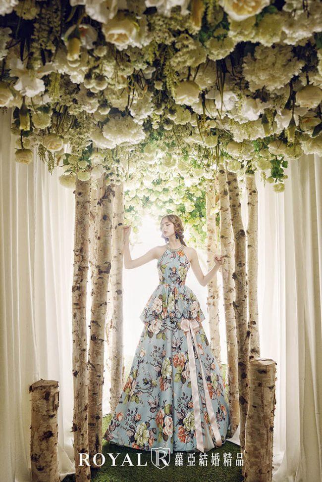 婚紗款式2020-削肩婚紗-削肩禮服-婚紗禮服款式-手工婚紗-繞頸
