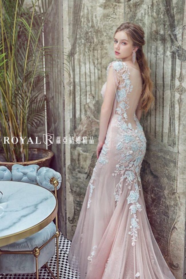 婚紗禮服款式-魚尾婚紗-婚紗款式2020