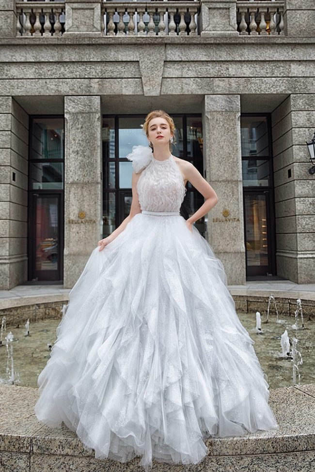 婚紗禮服-婚紗推薦-婚紗款式-削肩婚紗-婚紗照-拍婚紗-台北-蘿亞婚紗