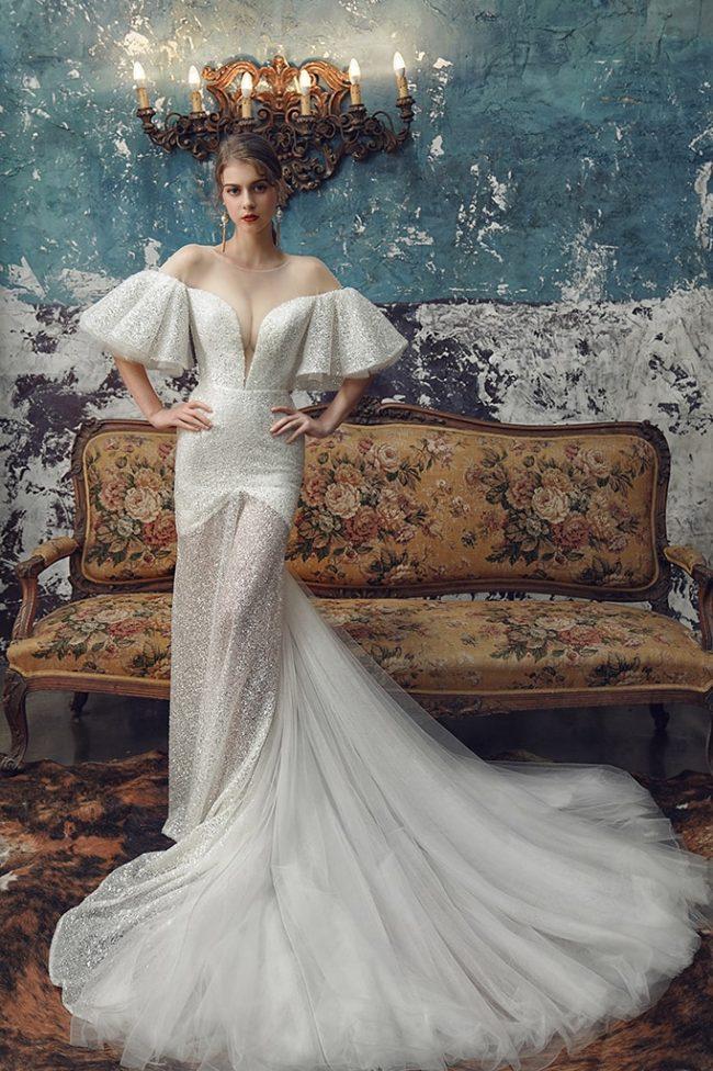 婚紗禮服-婚紗推薦-婚紗款式-特殊袖型婚紗-婚紗照-拍婚紗-台北-蘿亞婚紗