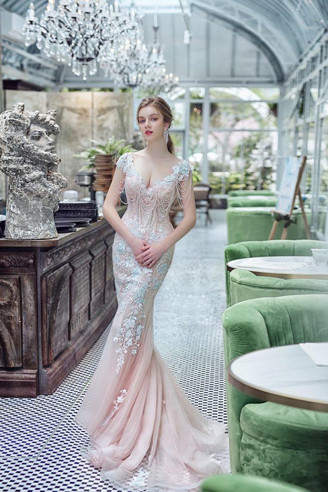 婚紗禮服-婚紗推薦-婚紗款式-魚尾婚紗-婚紗照-拍婚紗-台北-蘿亞婚紗