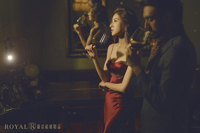 台北-婚紗基地-攝影棚-秘氏珈琲 Café Chamber-蘿亞婚紗-婚紗照