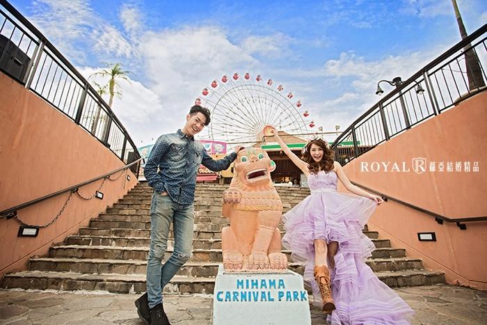 輕婚紗-輕婚紗攝影-地點-沖繩旅遊-蘿亞婚紗-台北-推薦