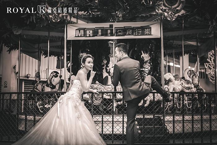 輕婚紗-輕婚紗攝影-地點-約會場景-蘿亞婚紗-台北-推薦