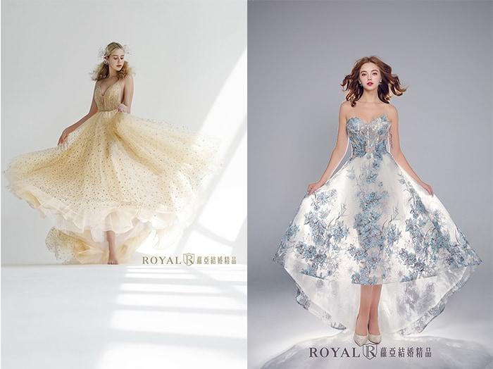 輕婚紗-輕婚紗禮服-輕婚紗洋裝-款式-顏色以淺色系為主-蘿亞婚紗-台北-推薦