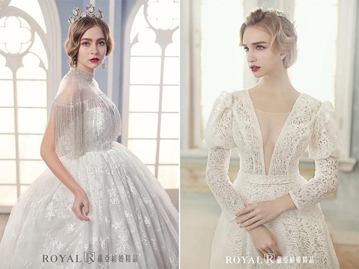 歐式婚紗-維多利亞風-皇家婚紗-2020婚紗流行趨勢-台北蘿亞婚紗