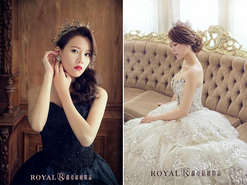 新娘皇冠造型-婚紗造型-新娘造型-台北新秘推薦-蘿亞婚紗