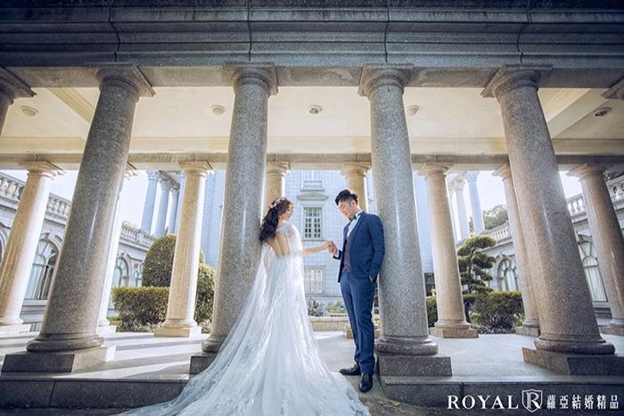 大同大學婚紗-台北歐式建築-台北婚紗景點-蘿亞婚紗