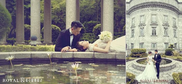大同大學婚紗照-台北婚紗景點-歐式噴水池-蘿亞婚紗