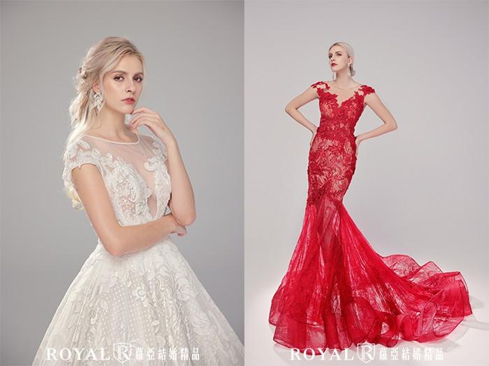 婚紗禮服-2021婚紗款式-2021婚紗流行趨勢-立體奢華蕾絲婚紗-婚紗禮服款式-禮服風格-台北婚紗推薦-蘿亞婚紗