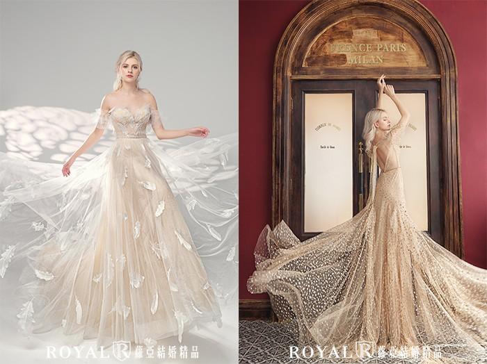 婚紗禮服-2021婚紗款式-2021婚紗流行趨勢-美式輕婚紗-2021Pantone流行亮麗黃-婚紗禮服款式-禮服風格-台北婚紗推薦-蘿亞婚紗