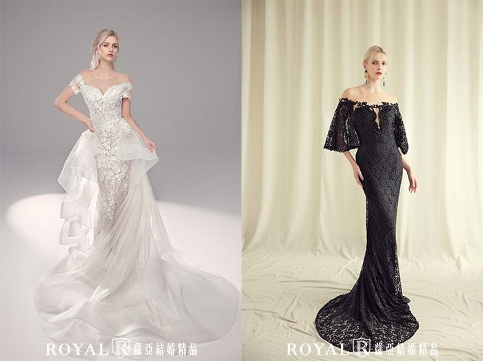 婚紗禮服-2021婚紗款式-2021婚紗流行趨勢-裸肩婚紗-婚紗禮服款式-禮服風格-台北婚紗推薦-蘿亞婚紗