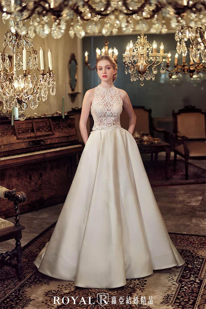 白紗-禮服-白紗款式-aline手工白紗-婚紗照-拍婚紗-台北-蘿亞婚紗