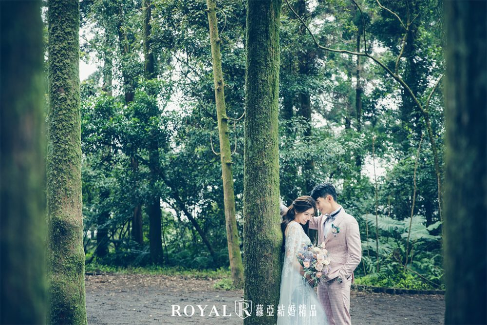 婚紗照-台北婚紗-浪漫婚紗-森林系婚紗-清新婚紗