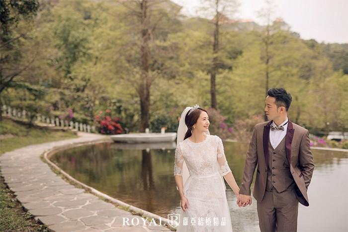 歐風婚紗照-浪漫婚紗照-台北婚紗-古典婚紗-城堡-森林系