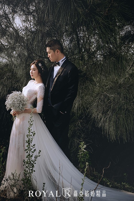 森林系婚紗-清新婚紗-美式婚紗-自然-森林-台北婚紗-婚紗照