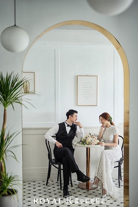 咖啡廳-韓劇-韓國婚紗-韓系婚紗-韓國藝匠-韓式婚紗-台北婚紗-浪漫婚紗