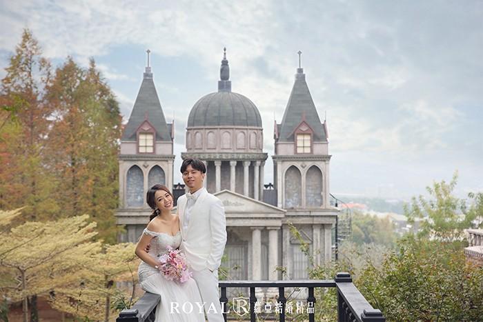歐風婚紗照-城堡-浪漫婚紗照-台北婚紗-典雅歐洲古堡-迪士尼