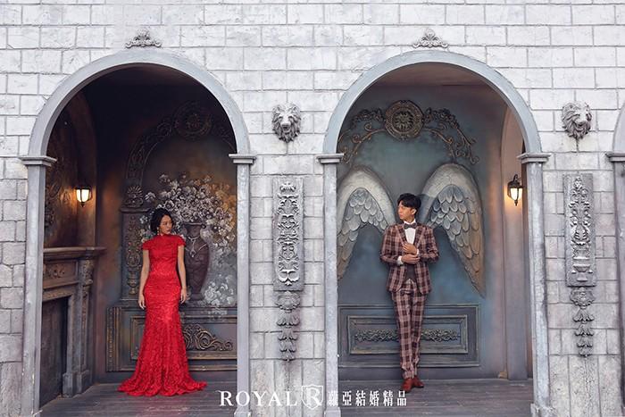 歐風婚紗照-城堡-浪漫婚紗照-台北婚紗-典雅歐洲古堡
