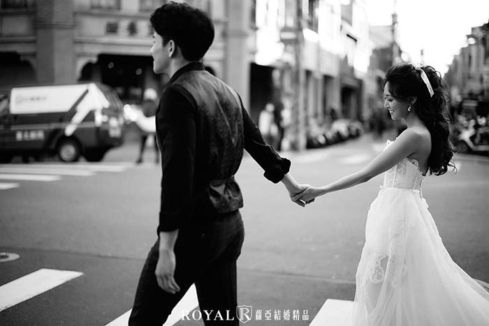 婚紗拍照風格-黑白婚紗照-3-台北-婚紗照-拍婚紗-蘿亞婚紗