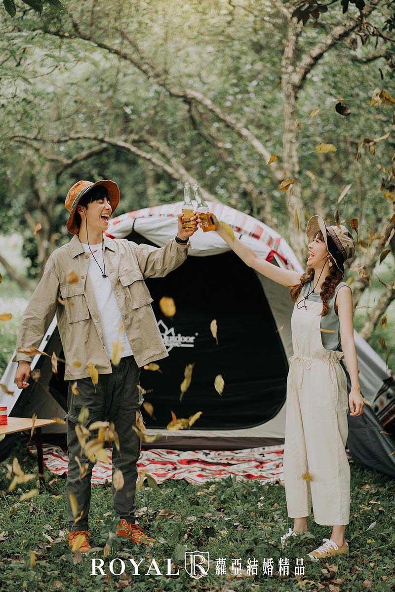 婚紗照風格-自然婚紗照-便服婚紗-野餐婚紗-台北-婚紗照-拍婚紗-蘿亞婚紗