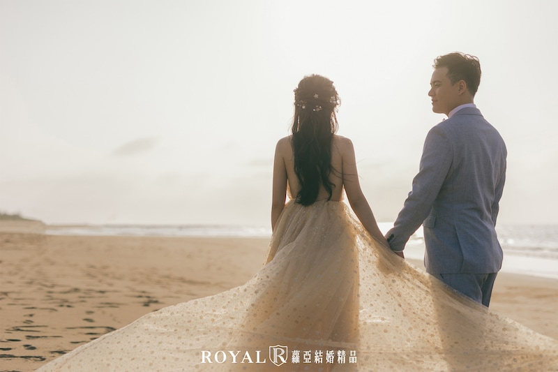 台北婚紗景點-婚紗外拍景點-淡水婚紗景點-沙崙海水浴場-3-台北-拍婚紗-蘿亞婚紗