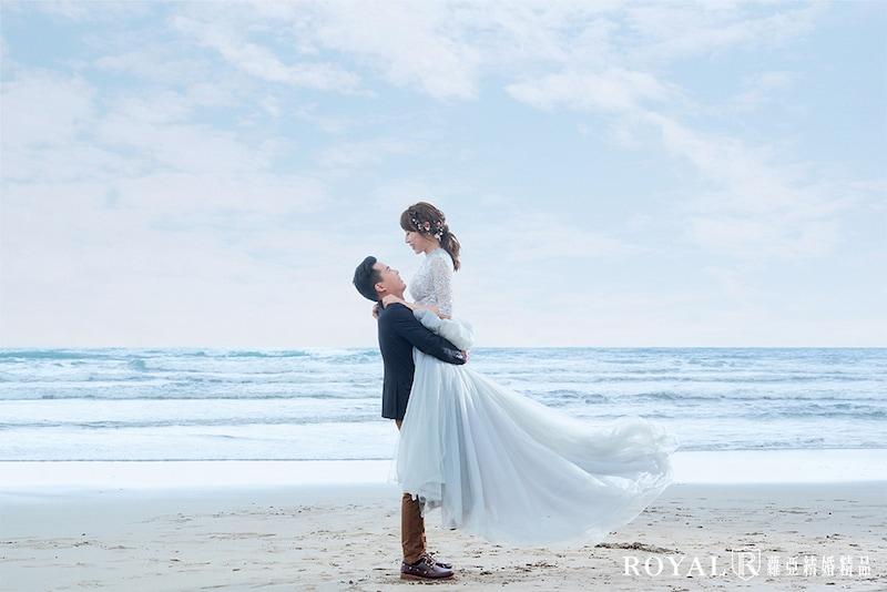 台北婚紗景點-婚紗外拍景點-淡水婚紗景點-沙崙海水浴場-4-台北-拍婚紗-蘿亞婚紗
