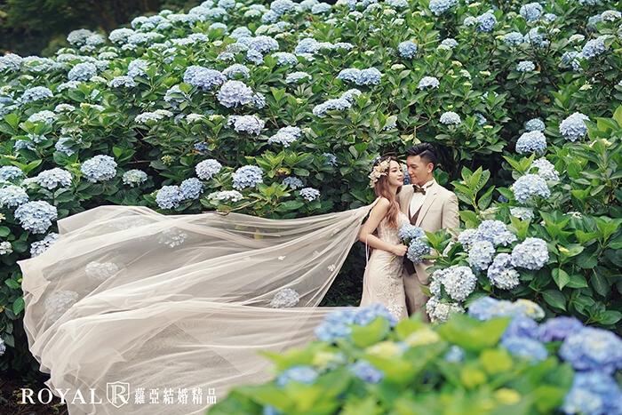 台北婚紗景點-婚紗拍攝景點-陽明山婚紗-繡球花婚紗-3-台北婚紗推薦-蘿亞婚紗