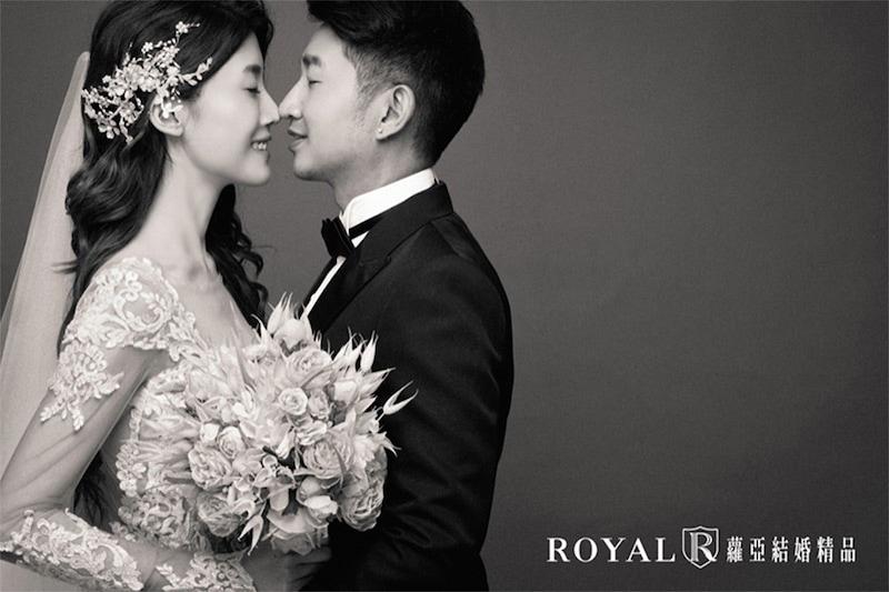 韓式婚紗-韓風婚紗照-韓式婚紗棚拍-素背景婚紗-1-台北-婚紗照-拍婚紗-蘿亞婚紗