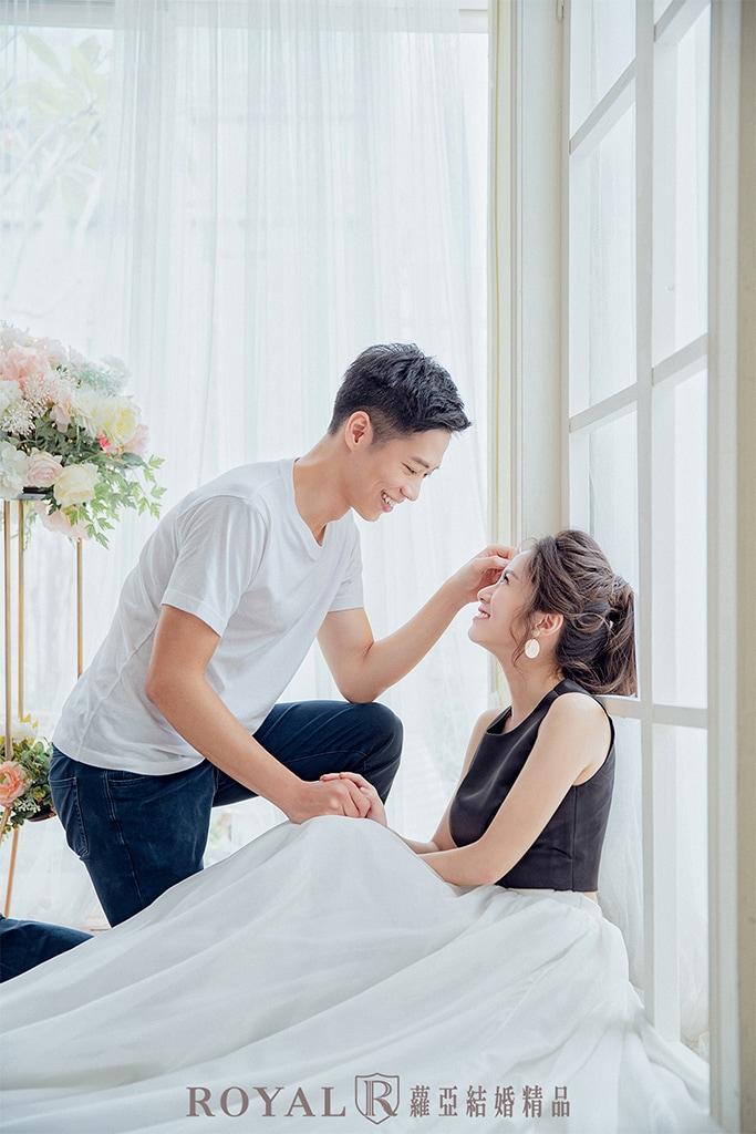 韓系婚紗-韓式婚紗棚拍-2-台北-婚紗照-拍婚紗-蘿亞婚紗